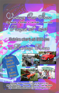 9th Annual Vintage Car Show